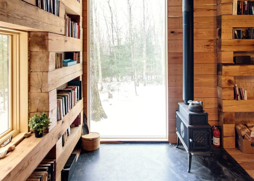 Studio Padron creates secluded library in the