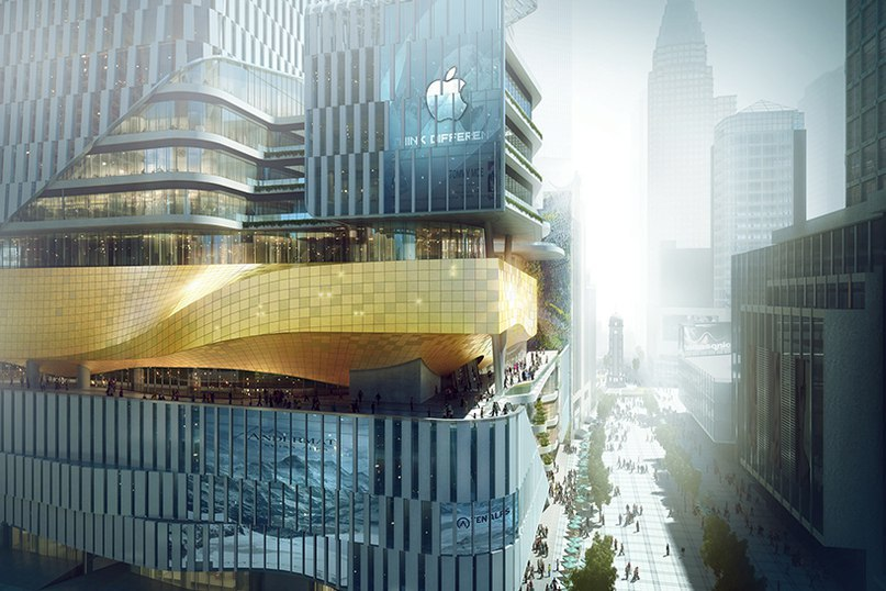 Aedas' mixed-use development for chinese publisher references