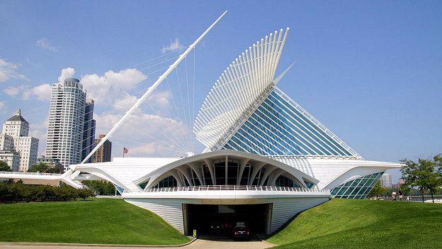 2. Художественный музей Милуоки, США Самая эффектная деталь