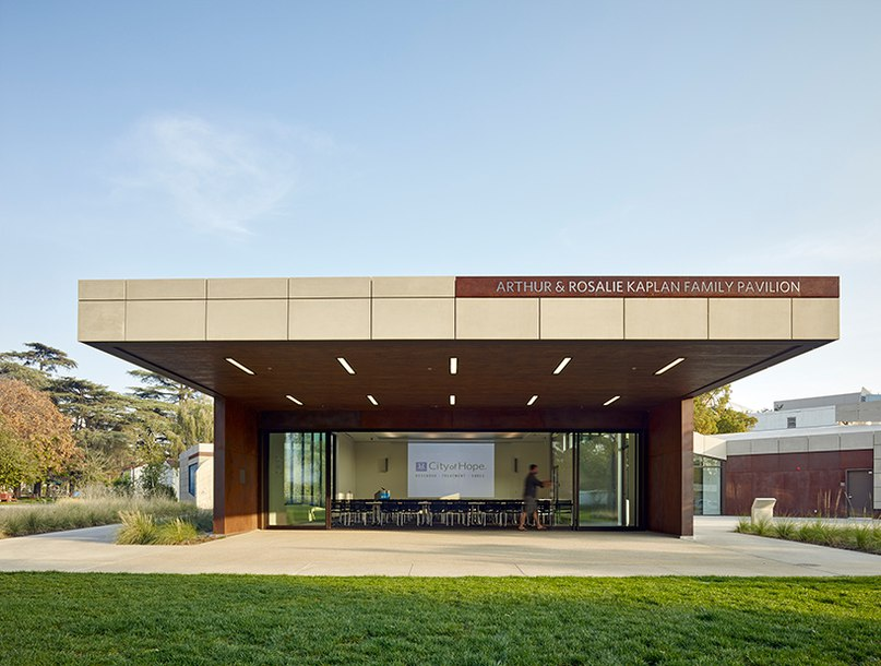 belzberg architects shields kaplan family pavilion with
