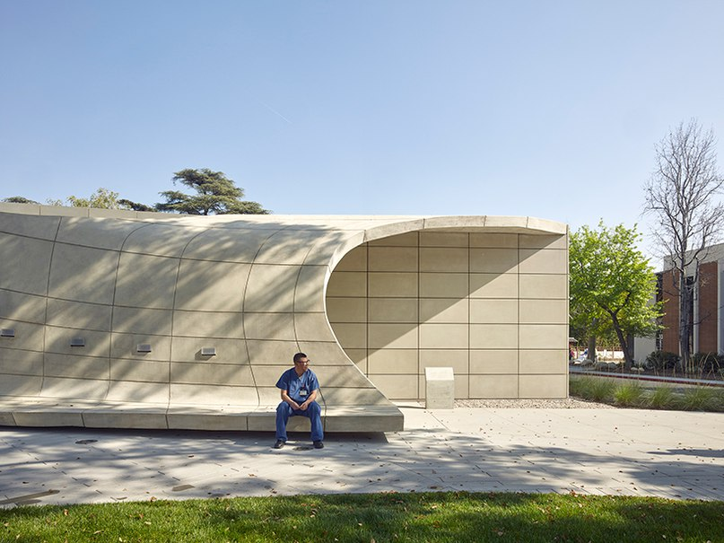 belzberg architects shields kaplan family pavilion with