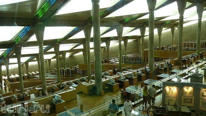 Национальная библиотека Египта или Александрийская библиотека Когда-то, а
