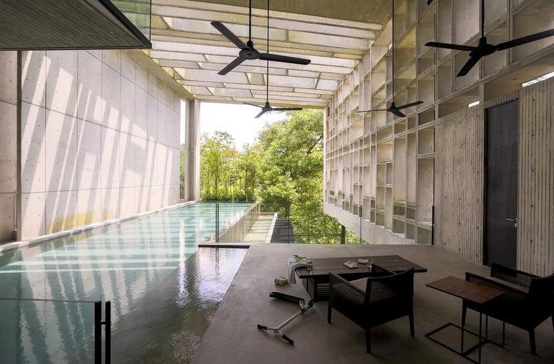 Этот дом в Малайзии, окружённый пышными джунглями,