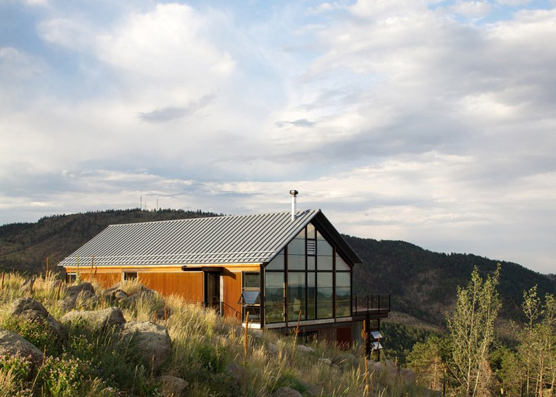 Renée del Gaudio builds Colorado home on