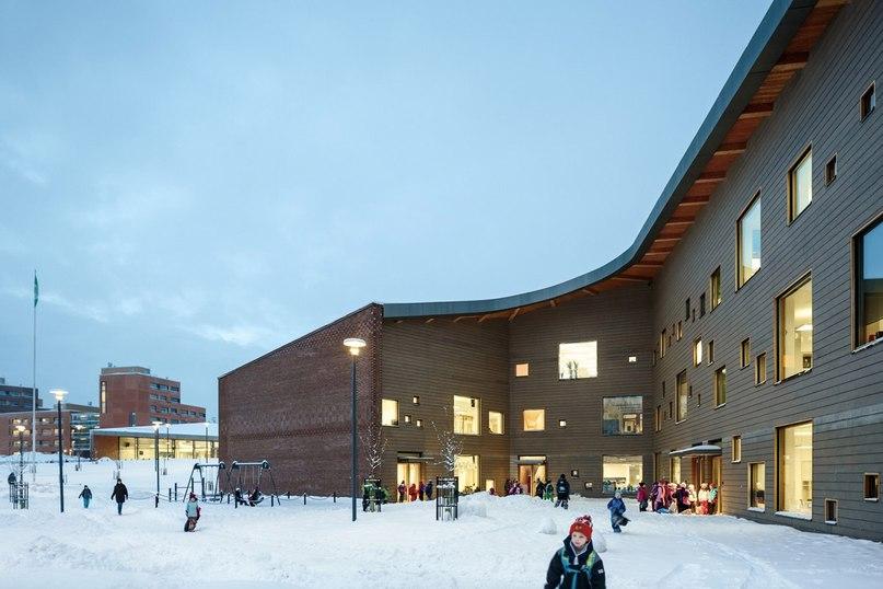 Школа будущего в Saunalahti Финляндия Детские психологи уже