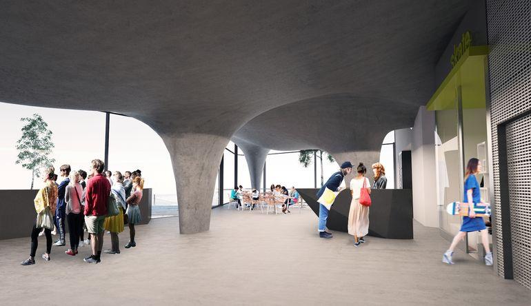 Архитекторы Guy Hollaway предлагают «первый в мире»