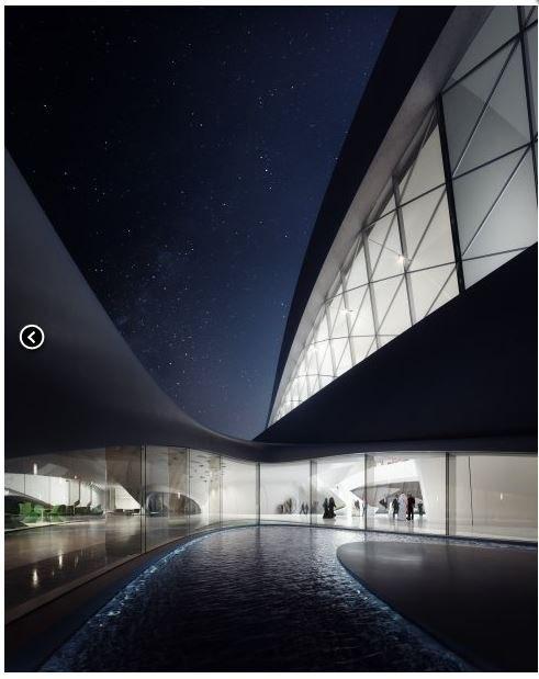 Архитектор Заха Хадид представила свой проект LEED
