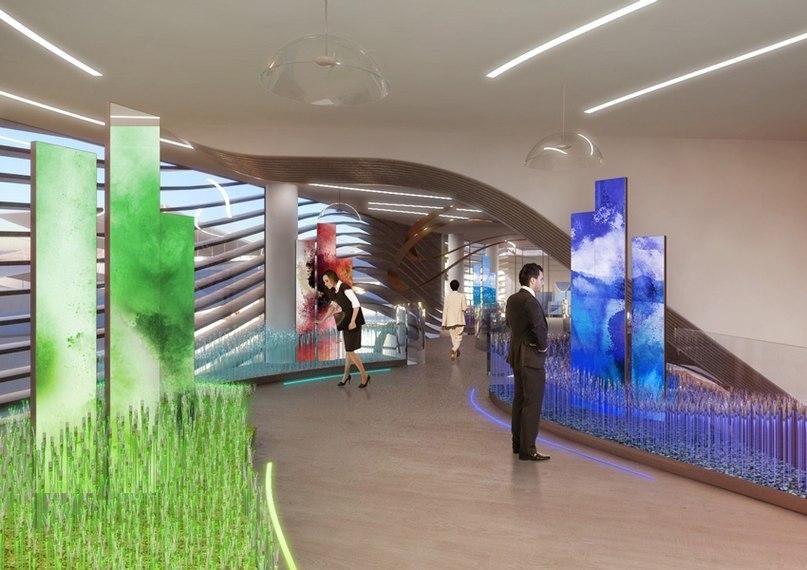 Павильон Азербайджана  Тема: «Сокровищница биологического разнообразия»  Авторы проекта: Arassociati
