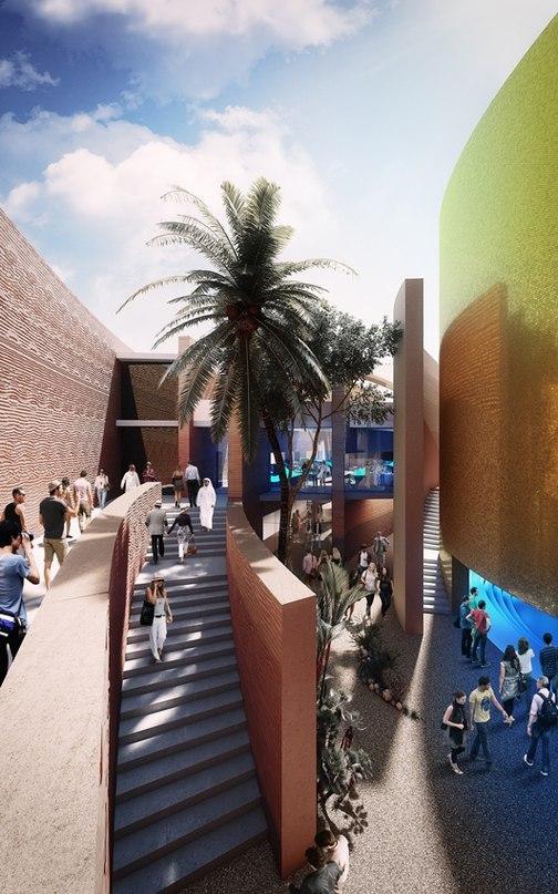Павильон ОАЭ  Тема: «Пища для размышлений»  Автора проекта: Foster