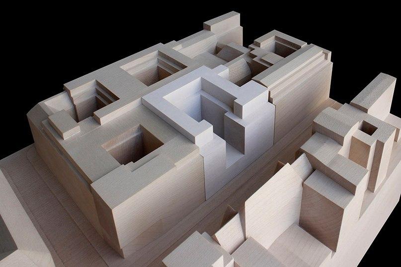 Архитектурная компания Дэвида Чипперфилда (David Chipperfield) создали