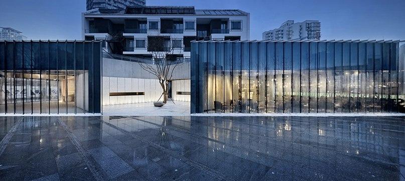original design studio arranges starbucks in shanghai