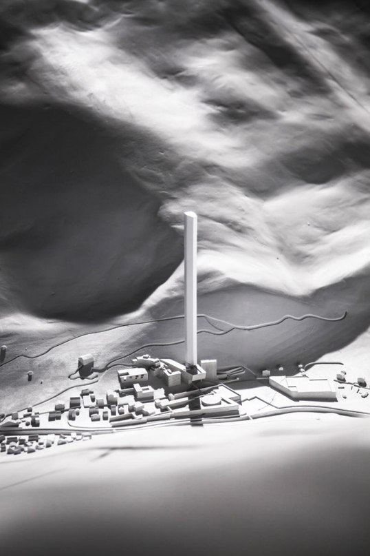 Блок 1 Альпийский небоскреб архитектор: Тадао Андо ; Том
