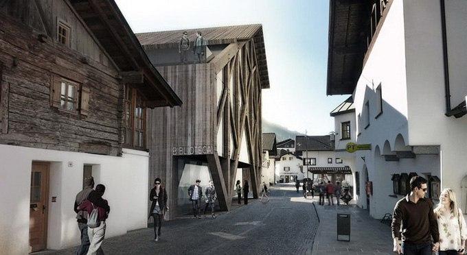 AZPA architects представили проект Библиотеки Св. Мартина