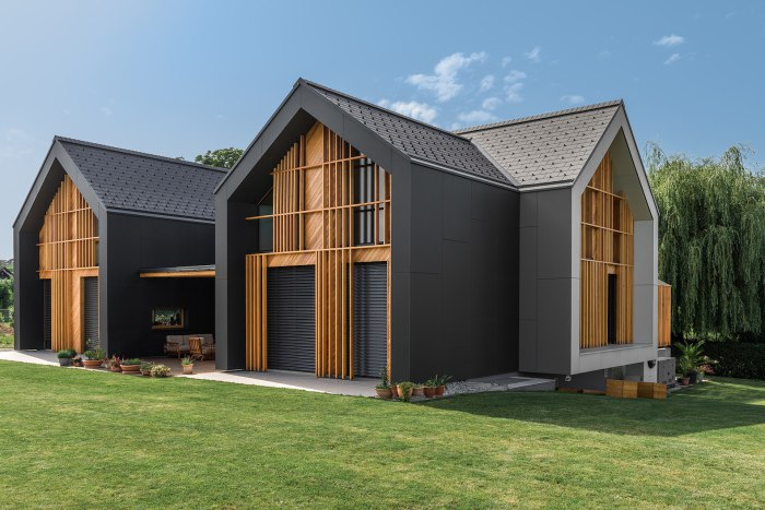 Архитектурная фирма Sono Arhitekti завершила строительство великолепного