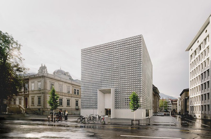 barozzi veiga completes monolithic extension to the