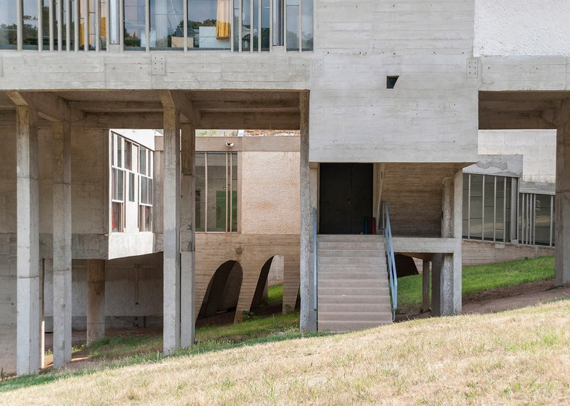 Le Corbusier's La Tourette monastery is among