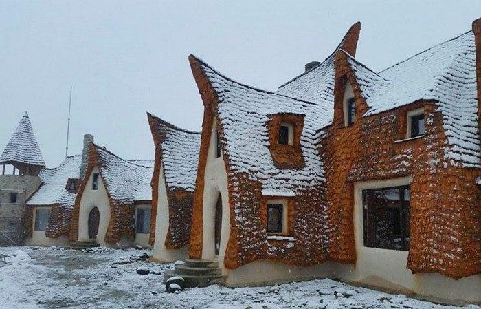 В популярном культурном центре Сибиу (Трансильвания, Румыния)