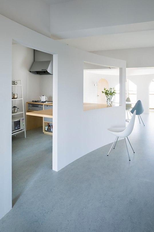 Проект реконструкции квартиры для женщины с двумя