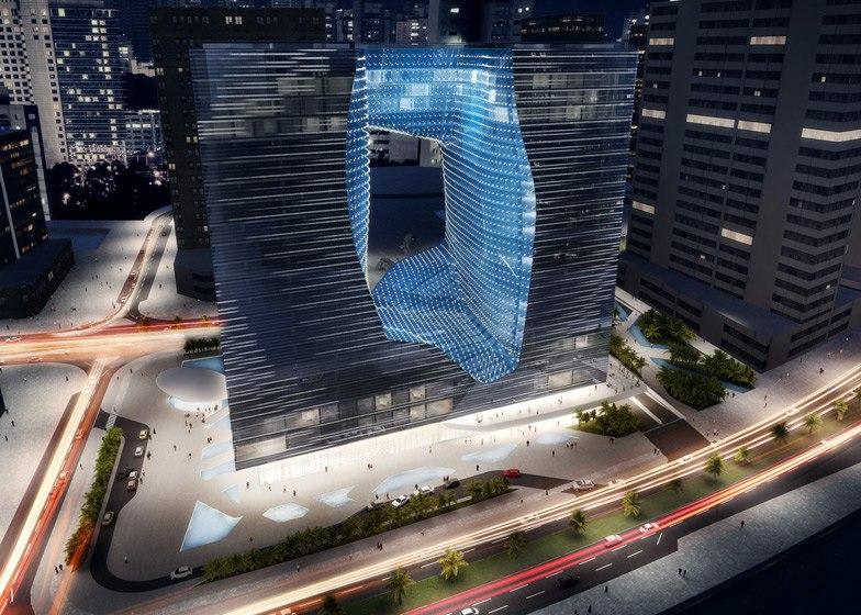 Отель Захи Хадид ME Дубай является частью