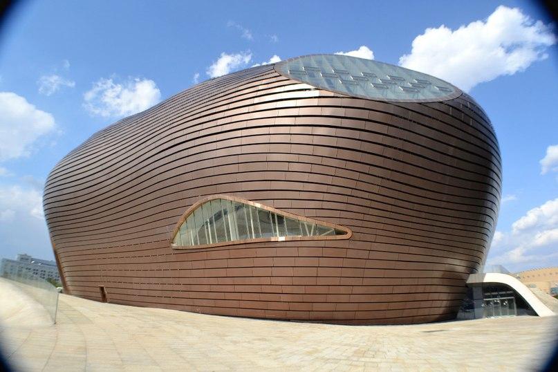 Музей Ordos спроектирован пекинской студией MAD architects