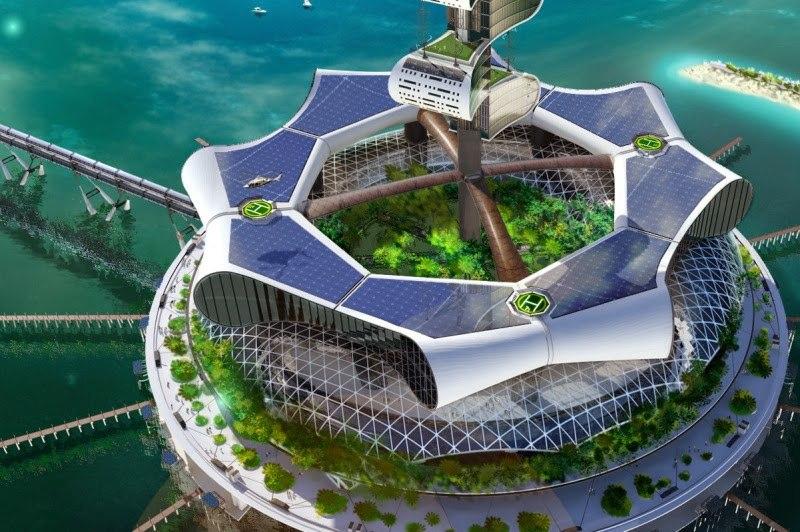 Гранд Канкун Eco Island   арх. Ричард