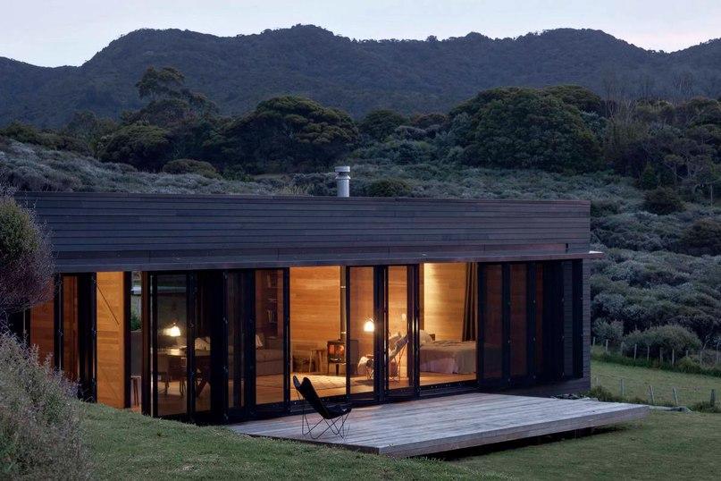 Коттедж Шторм (Storm Cottage) в Новой Зеландии