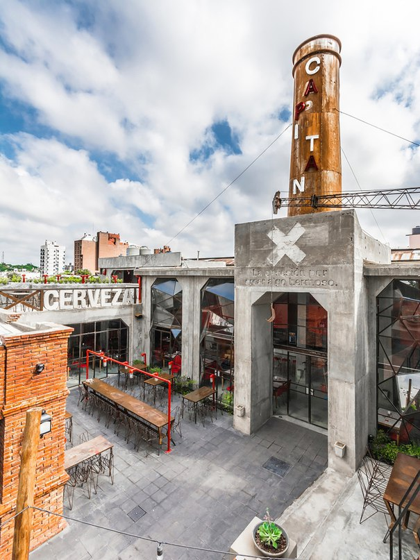 Часть 2. Пивной бар Capitan Central Brewery