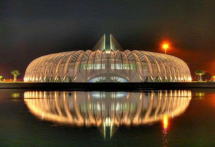 Блок 3 Флорида, политехнический университет, Испанский архитектор Сантьяго Калатрава