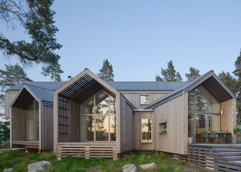 Murman Arkitekter completes a Swedish villa that