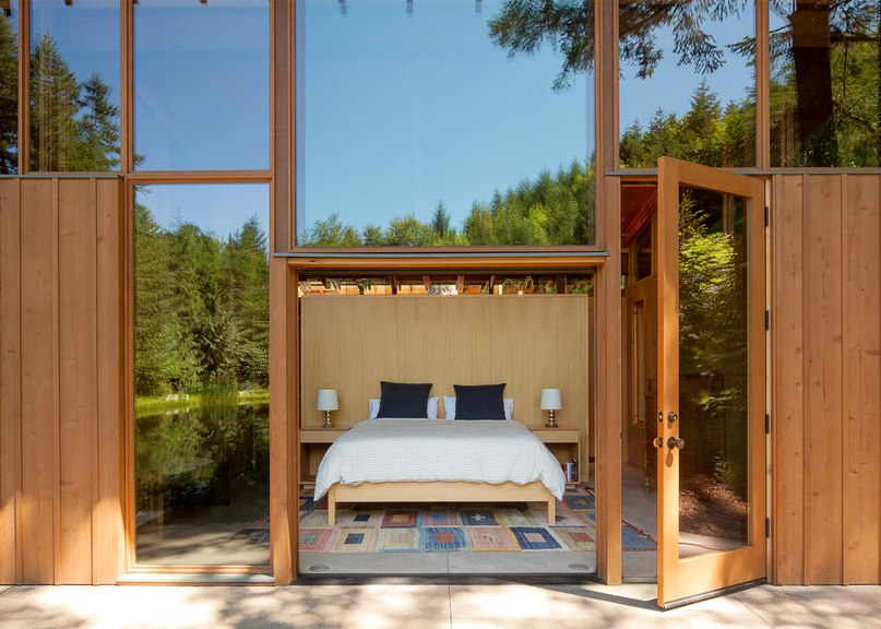 Cutler Anderson builds wooden Newberg Residence over