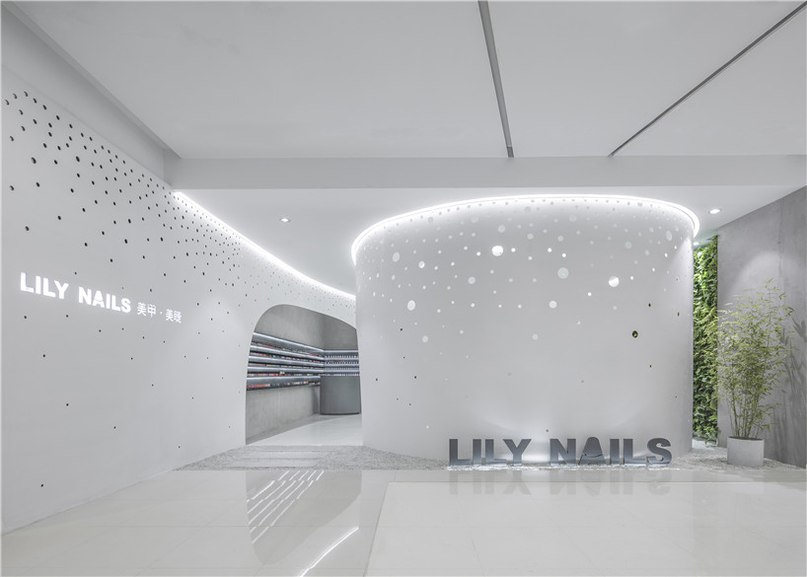archstudio updates lily nails' visual identity for