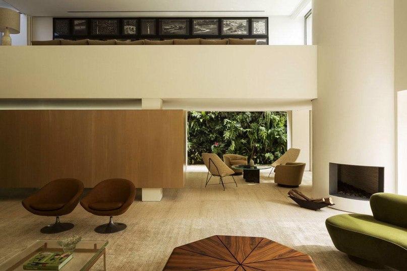 Дом ДС (DS House) в Бразилии от