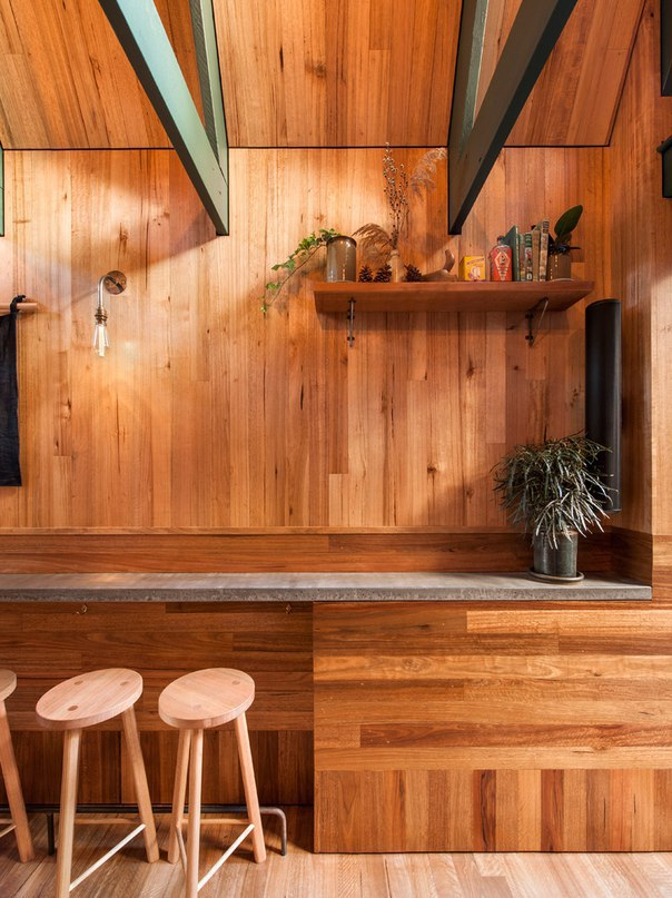 Pink Moon Saloon is a cabin-inspired bar