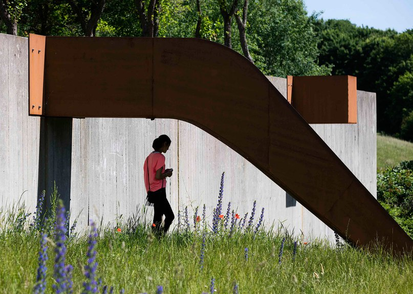 Holscher Nordberg Architects creates play area framed