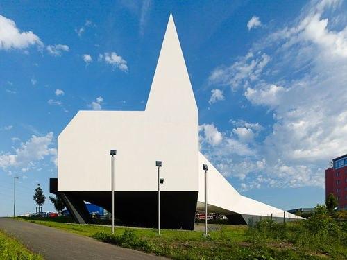 церковь  Autobahnkirche Siegerland, Германия  Общая площадь :