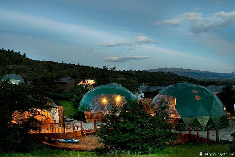 EcoCamp Patagonia — это новый тип отдыха,
