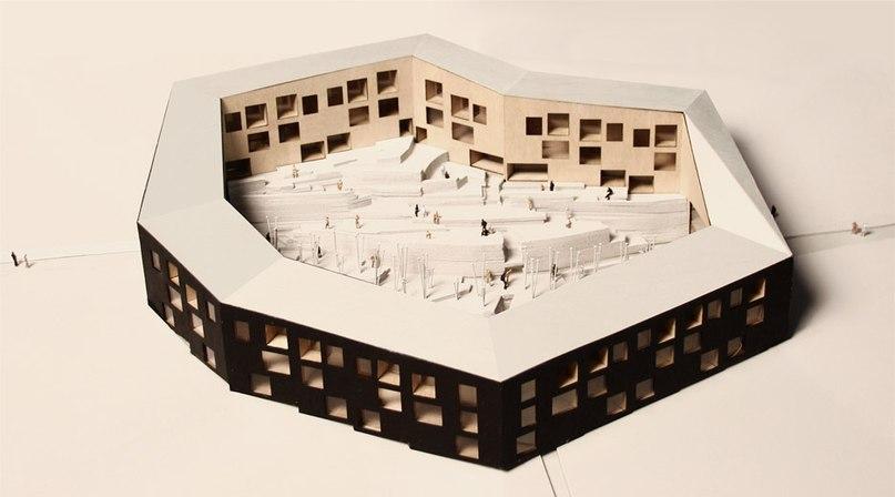White Arkitekter wins housing design contest for