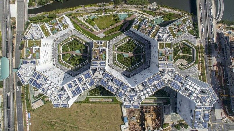 Архитектурное бюро group8asia спроектировало жилой комплекс Punggol