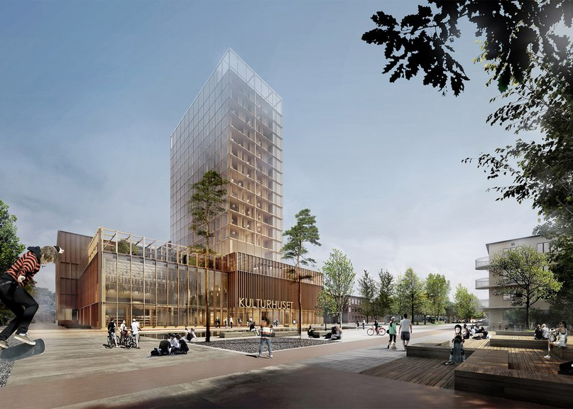 White Arkitekter selected to build timber-framed high-rise