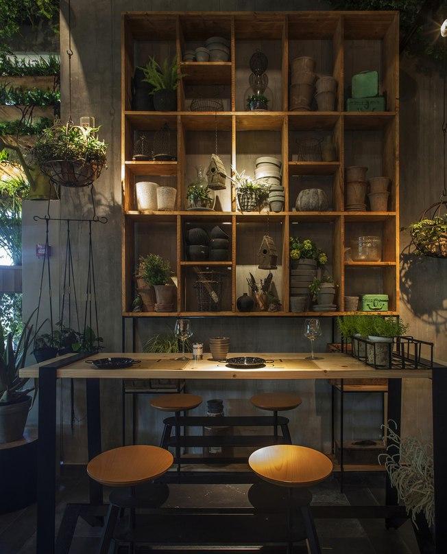 Часть 1. Зелёный ресторан Segev Kitchen Garden Ресторан
