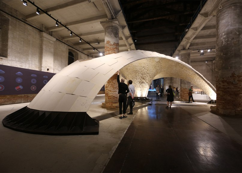 Armadillo Vault is a pioneering stone structure