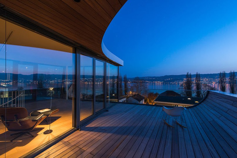 evolution design models zurich lakehouse with ribbon