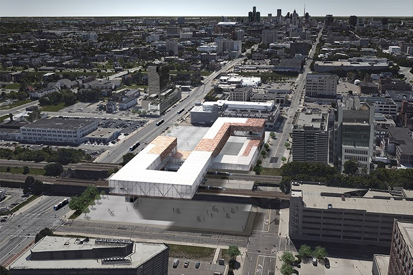 DK's detroit station concept aids in citywide