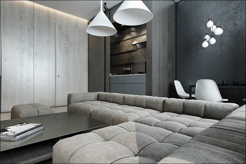 Архитектор: Станислав Каминский. Эта квартира площадью 80