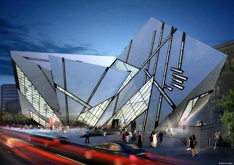 Деконструктивизм — направление в современной архитектуре. Для