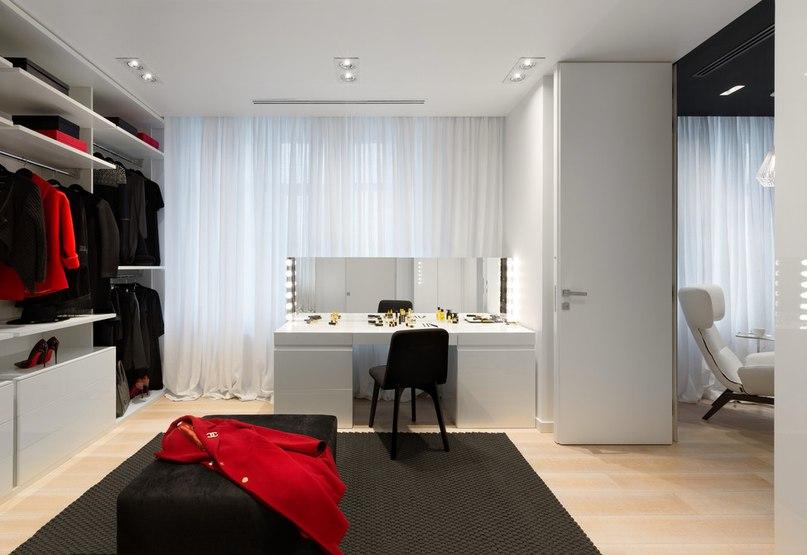 Часть 1. Чёрно-белая квартира для молодой пары Архитекторы