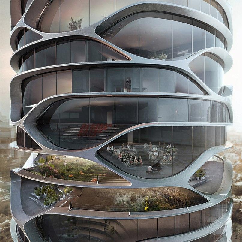 Бельгийский архитектор Давид Тайчман (David Tajchman) представил