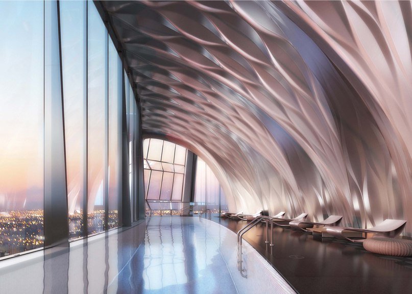 Zaha Hadid's interiors for One Thousand Museum