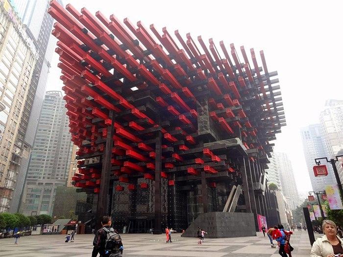 Невероятное здание центра искусств
