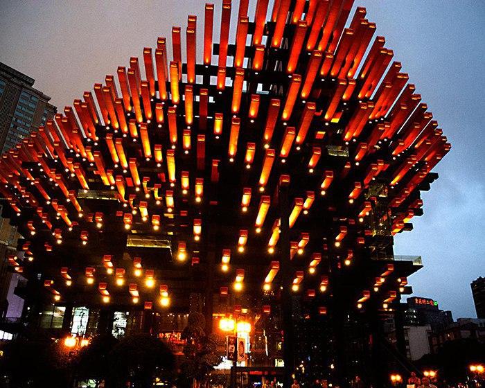 Невероятное здание центра искусств «Готай», строительство которого